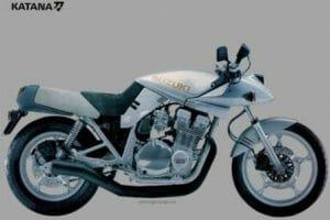 Moto suzuki katana