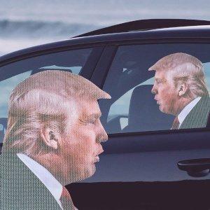 gadget Adesivo per Auto Trump