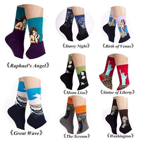 I calzini sono taglia unica e vanno bene per la mezza stagione/ stagione invernale.