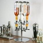 Finalmente il vostro angolo Bar a una manciata d'euro! Con questo Distributore di bevande a LED potrete erogare alla spina fino a 4 bottiglie di bevande diverse.