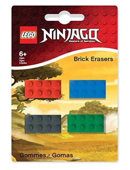 Gomme da cancellare a forma di Lego!!! Solo per avere la scusa di comprarle sarei disposto a comprare quadernoni e matite!