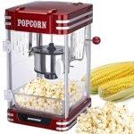 Non esiste festa senza Popcorn! Con questa macchina per il popcorn potrete finalmente fare popcorn sempre freschi e gustosi.