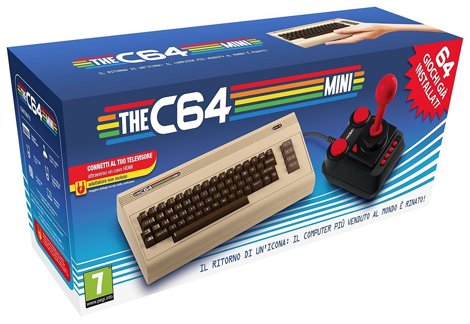 regali-per-uomo THEC64 Mini