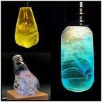 E.P. Design Lab realizza oggetti di arredo consistenti in lampade caratterizzate da un'anima luminosa. Guarda quanto sono strane!