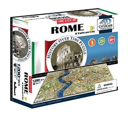 regali-per-ragazzi 4DCityscape - Time Puzzle Roma