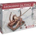 Sei in cerca di una idea per un regalo divertente ed istruttivo? Direttamente dai progetti originali di Leonardo Da Vinci ecco una ricostruzione della sua catapulta in un modellino in scala da montare!