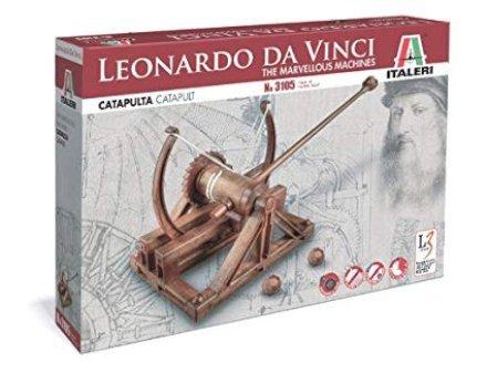 regali-per-ragazzi Italeri 3105 - Leonardo Da Vinci: Catapulta - Catapult Model Kit
