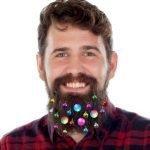 No, non è uno scherzo! Esistono davvero! Addobbi natalizi da appendere sulla barba!!!