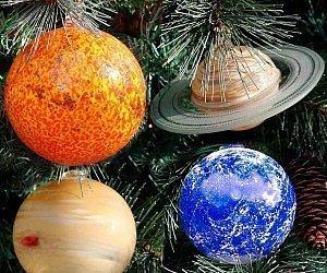 feste-e-anniversari Decorazioni albero di natale Set sistema solare