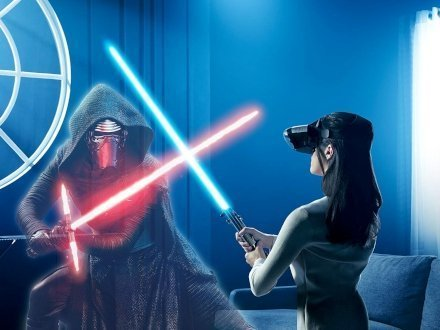fantastici Star Wars Augmented Reality Game