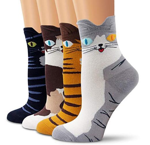 idea regalo calzini gatto