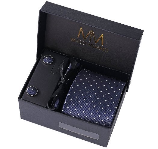 set cravatta e accessori