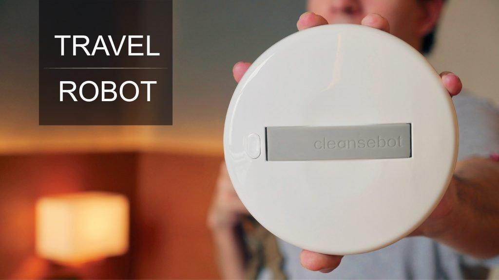 robot ammazza batteri