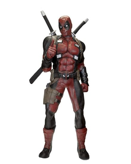 gadget Deadpool: Statua in scala reale!