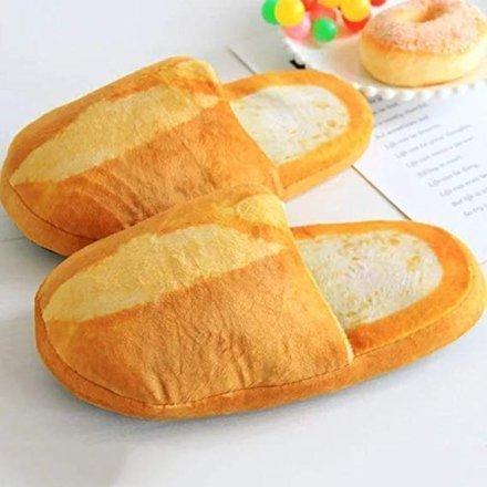 regali-per-donna Pantofole a forma di panino
