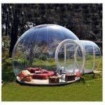 La Tenda a bolla è una tenda da giardino, fatta di un robusto involucro trasparente, che ti consente di stare in giardino tutti i giorni dell'anno a prescindere dal meteo. E' un gazebo trasparente che ti permette di godere dell'aria aperta a prescindere dal meteo.