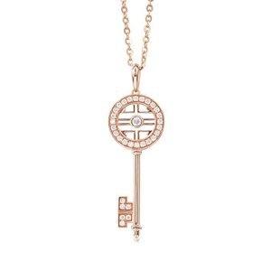 gioiello chiave oro e diamanti per un regalo di san valentino indimenticabile