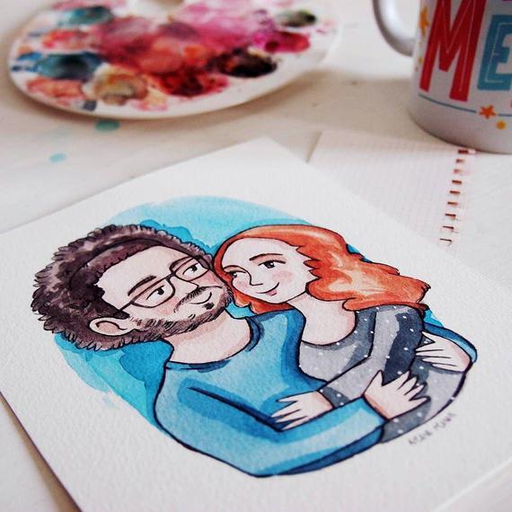 Sei in cerca di una idea regalo originale ed unica? Fatti fare un ritratto personalizzato!