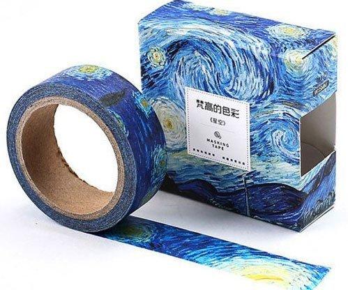 casa-ufficio Nastro adesivo notturno stellato Van Gogh