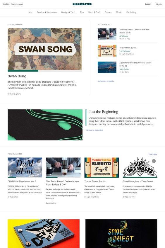 Cos'è Kickstarter? Come funziona? E sopratutto: perché ti conviene usarlo? La risposta a queste ed altre domande in questo articolo che ti farà scoprire anche alcune potenzialità di questo sito (e di come noi potremo esserti d'aiuto).
