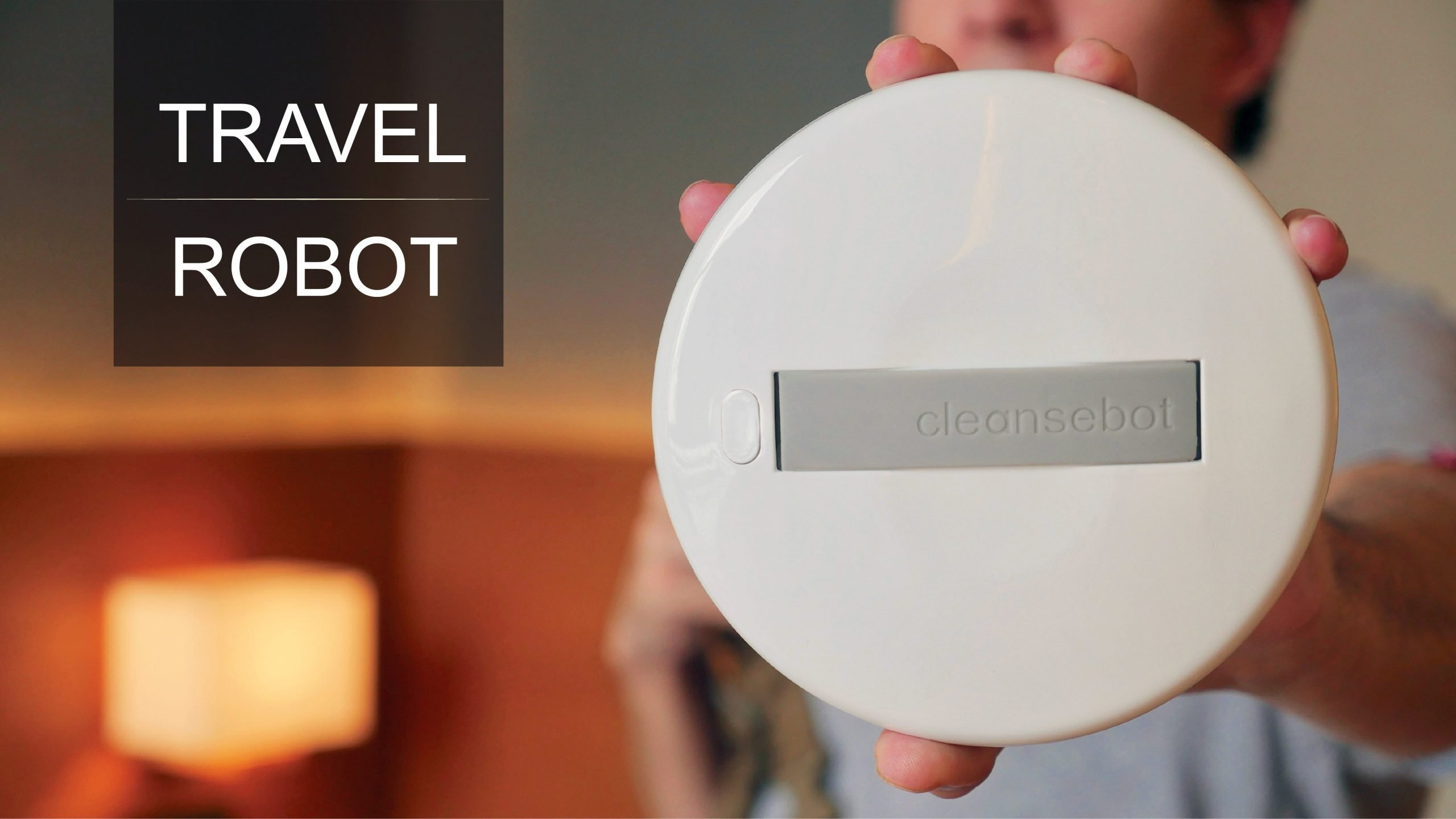Robot Ammazza Batteri Cleansebot
