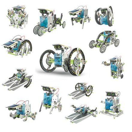 Set Costruzioni 14X1 robot ad energia solare