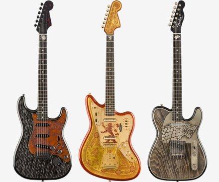 L'inverno è arrivato! Game of Thrones è arrivato all'ultima stagione e Fender celebra l'evento con una linea di chitarre dedicate! Ascolta il loro suono!
