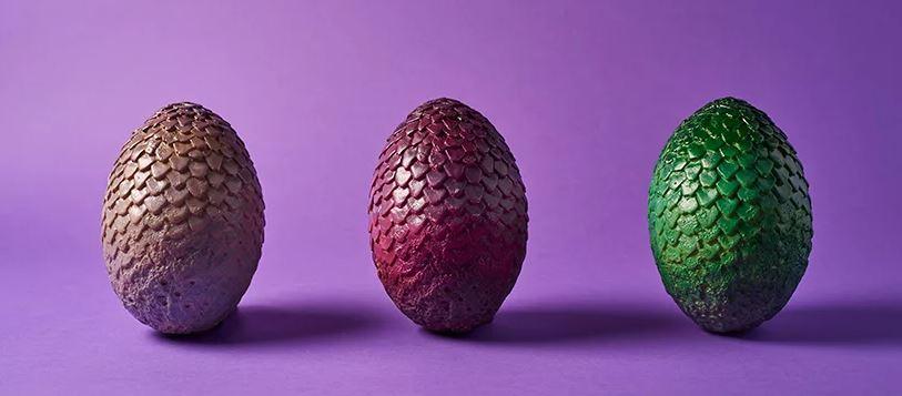 uova di drago di cioccolato
