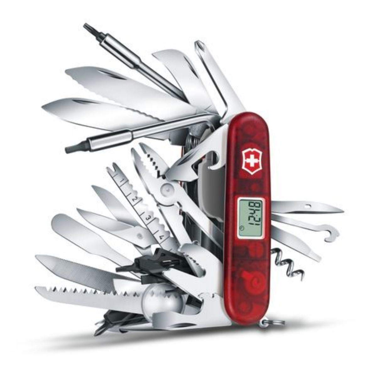 Un regalo originale per l'amico smanettone? Ecco l'idea regalo che cercavi! Il coltellino svizzero definitivo!