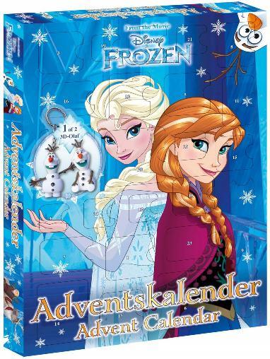 calendario dell avvento Frozen
