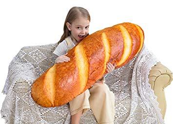 Un divertente cuscino a forma di panino per rendere più allegra la tua camera o il tuo salotto! A vederlo sembra di sentirne il profumo!