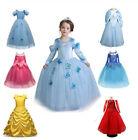 Vestito frozen Carnevale Elsa Costume congelato Vestito da principessa Ragazze