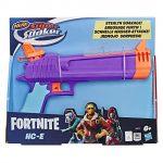 Una idea regalo per giovani ragazzi che sarà sicuramente apprezzata è questo Blaster Nerf a tema Fortnite.