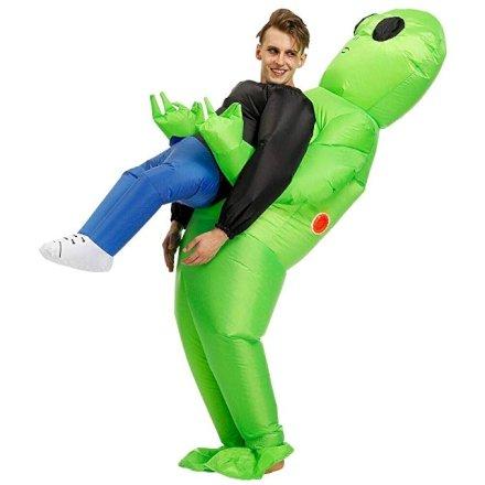 Aiuto mi ha rapito un alieno! Il costume di carnevale più divertente è arrivato!
