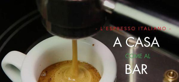 caffè a casa come al bar