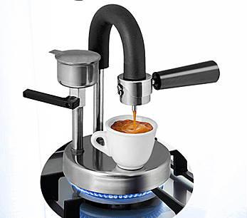 Kamira è una macchinetta per fare il caffè espresso sui fornelli di casa. Ecologica, economica e 100% italiana.