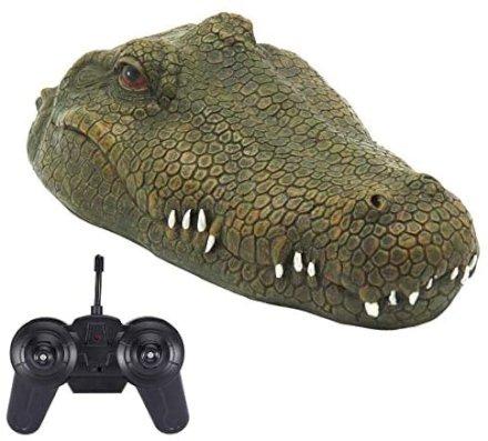 testa di coccodrillo radiocomandata