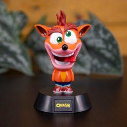 Anche in questa Icon Light,Crash Bandicoot ci mostra tutta la sua amabile follia. Il personaggio fa parte della linea di Icon Light, dei personaggi da collezione dall`aspetto buffo e dotati di una luce interna che li fa risaltare anche al buio.
