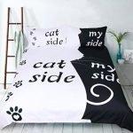 Il tuo amico gatto è il vero padrone di casa. Prendine atto con questo divertente copripiumino per il tuo letto. Una idea regalo divertente e originale per te e il tuo padrone di casa a quattro zampe.