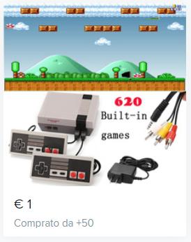 mini console retro. gratis