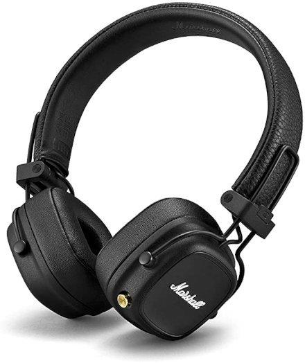 gadget Marshall Cuffia Major IV, Bluetooth, Nero