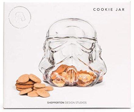 gadget Biscottiera in vetro casco Stormtrooper