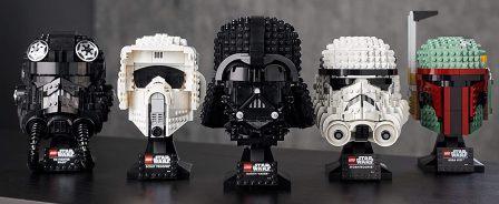 caschi della serie Star wars