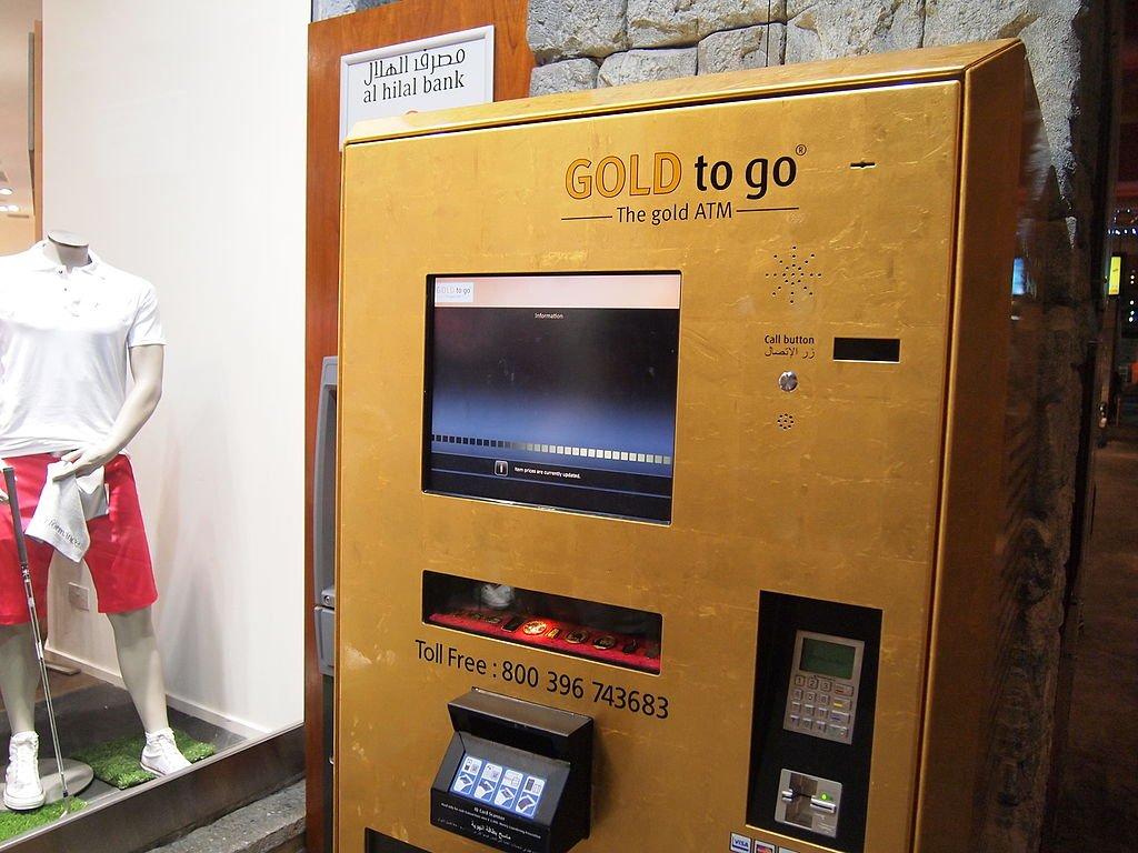bancomat dubai oro